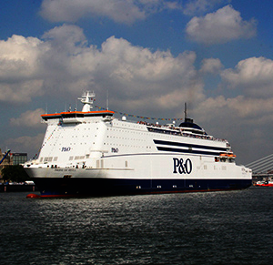 Pride of Hull P&O boot